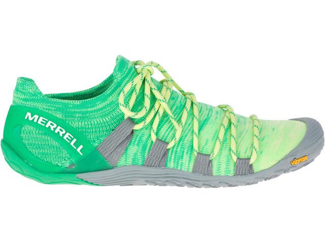 Merrell Vapor Glove 4 3D Shoes Damen sunny lime/beetle